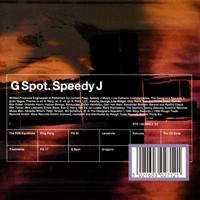 Speedy J - G-Spot - обложка