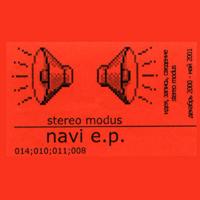 Stereo Modus - Navi EP - обложка