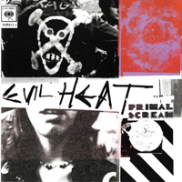 Primal Scream - Evil Heat - обложка