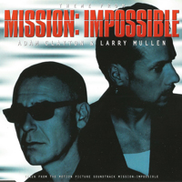 Adam Clayton & Larry Mullen - Theme from Mission Impossible - обложка