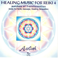 Aeoliah - Healing Music For Reiki 4 - обложка