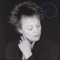 Laurie Anderson - Strange Angels - обложка