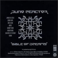 Juno Reactor - Bible Of Dreams - обложка