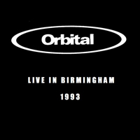 Orbital - Live In Birmingham - обложка