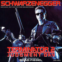 Brad Fiedel - Terminator 2 OST - обложка