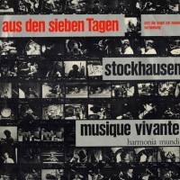 Karlheinz Stockhausen - Aus Den Sieben Tagen - обложка
