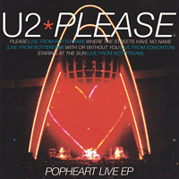 U2 - Please (Popheart Live) - обложка