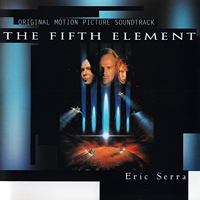 Eric Serra - The Fifth Element - обложка