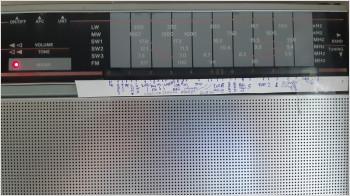 FM диапазон в Риге на приёмнике VEF221