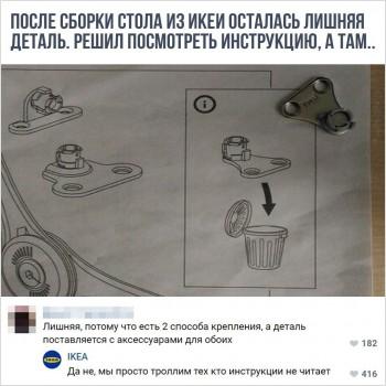 Инструкция Ikea