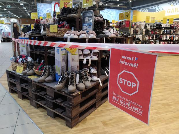 Запрет на покупки в магазине Rimi