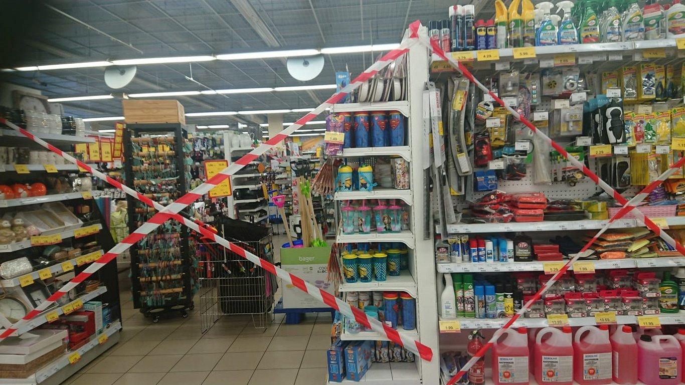 Запрет на покупки в латвийском магазине