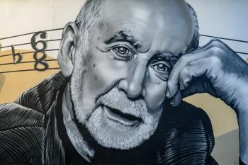 Имантс Калныньш — Граффити к 80-летнему юбилею — Лиепая